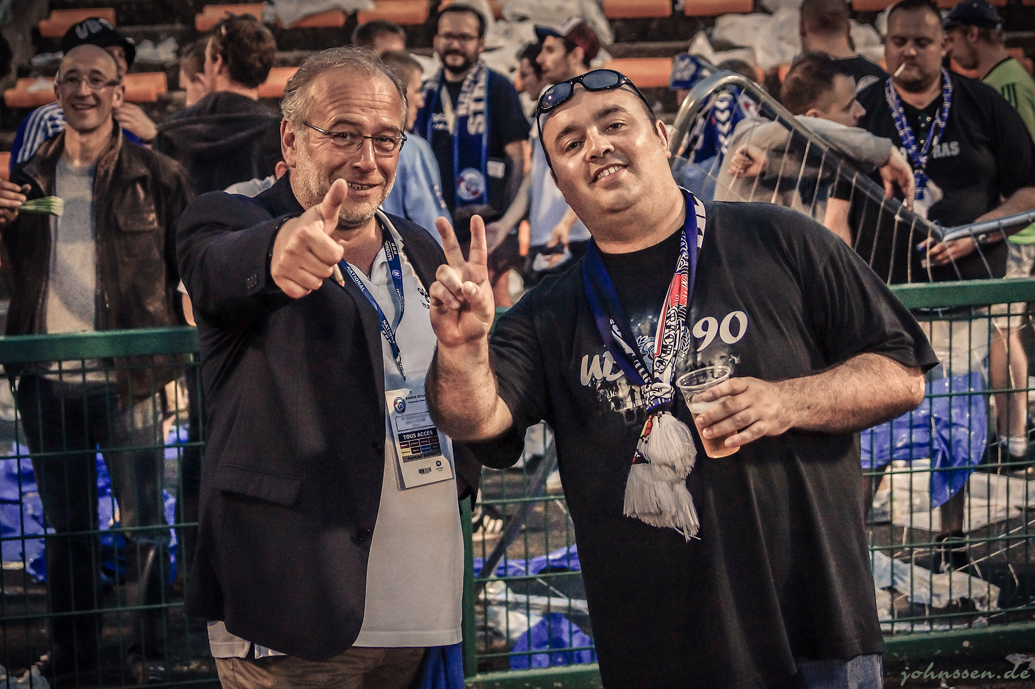 Jean-Luc Filser et Kenny des UB90